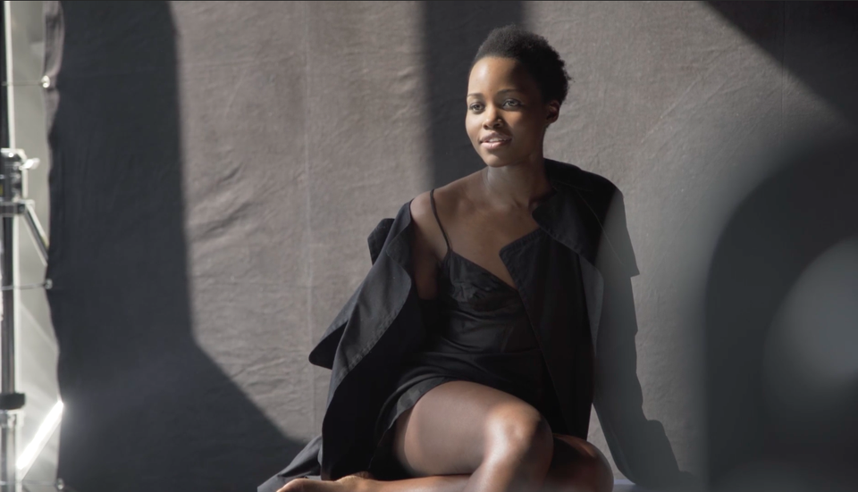 Lupita Nyong'o Strikes A Pose For The 2017 Pirelli Calendar In Completely Untouched Photos
